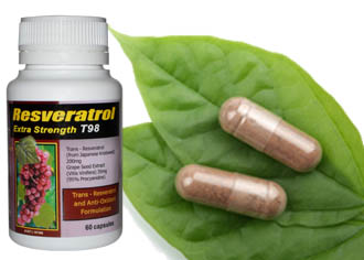 Trans Resveratrol 420mg per serving - Extracted from the Polygonum Cuspidatum Plant...